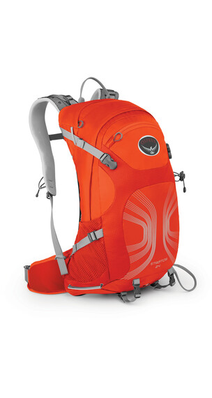 Osprey M's Stratos 24 Backpack Solar Flare Orange